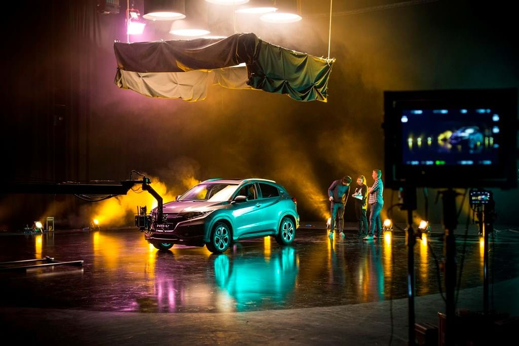Telling the story of Honda's new HR-V