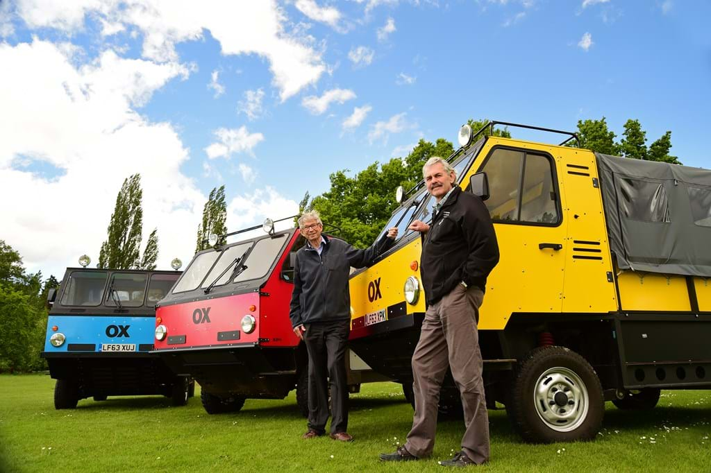 Launching the world's first flat-pack truck