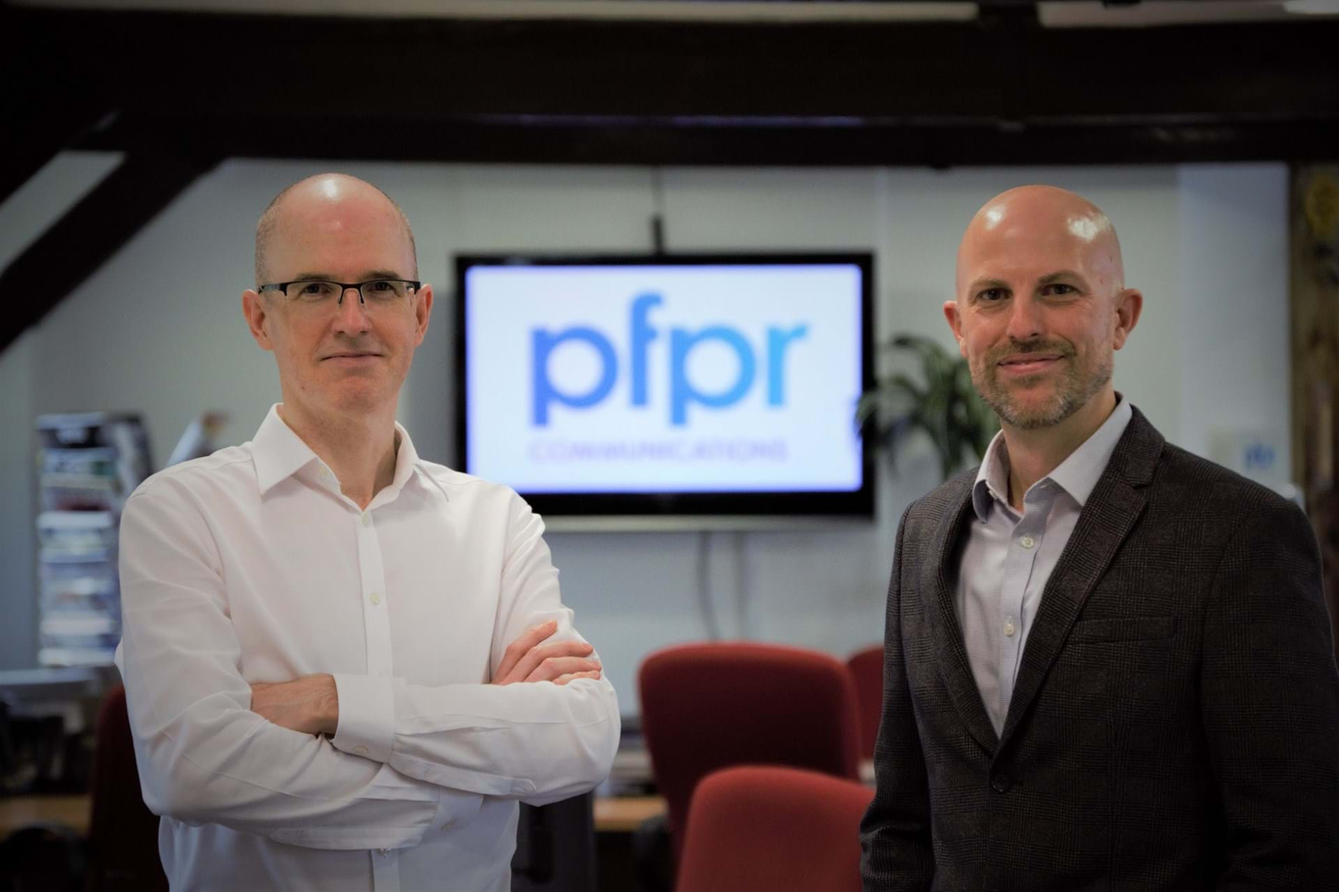 Peter Cox, MD (L) and Mike Stainton, Deputy MD (R) - PFPR Communications.jpg